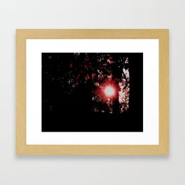 our star Framed Art Print