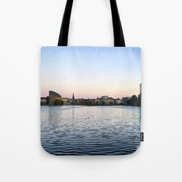 The Lakes Evening Tote Bag