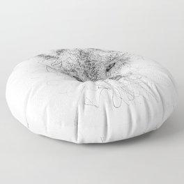 WolF Line Floor Pillow