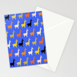 Llamas Stationery Cards