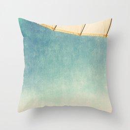 um.brel.la print Throw Pillow