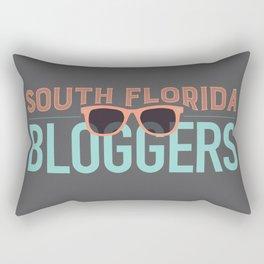 South Florida Bloggers Logo Rectangular Pillow