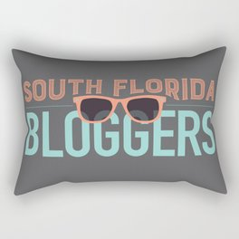 South Florida Bloggers Logo Rectangular Pillow