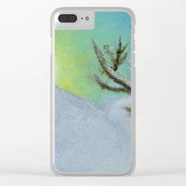 Waiting Clear iPhone Case