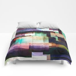 Lighthouse Abstract Comforters