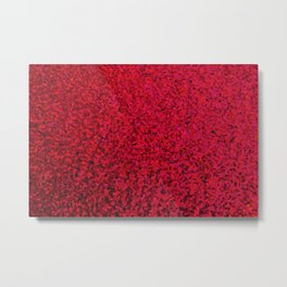 RED SEQUNS. Metal Print