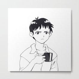 SHINJI 02 Metal Print