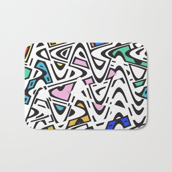 Trippy Pop Urban Bath Mat