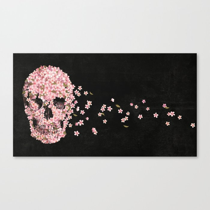 A Beautiful Death  Canvas Print