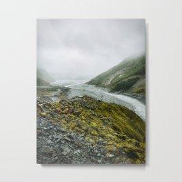 Franz Josef Glacier New Zealand Metal Print