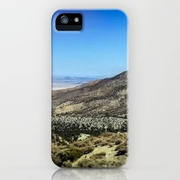 Crystal Mountain on the Pacific Crest Trail iPhone Case