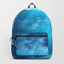 Ocean Blue Waves Backpack