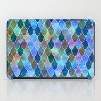 mermaid iPad Cases featuring Mermaid by Schatzi Brown