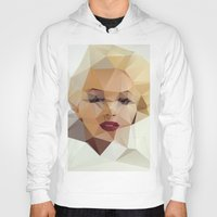 monroe Hoodies featuring Monroe. by David