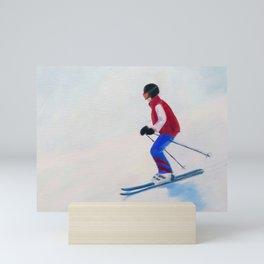 Bunny Slope Mini Art Print