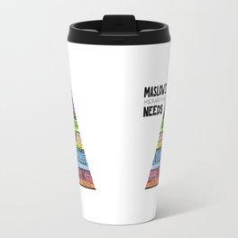 Maslow's Hierarchy of Needs, II Travel Mug