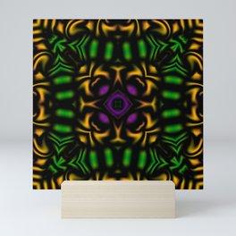 Secondary Kaleidoscope 2 Mini Art Print