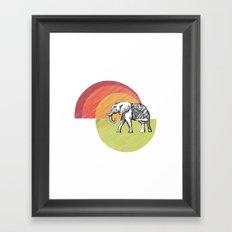 Elephant... Framed Art Print