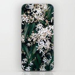 Green and White iPhone Skin