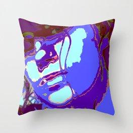 Stamp Geisha  Throw Pillow