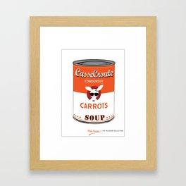"""""""CasseCroute"""" (from War-hol) Framed Art Print"""