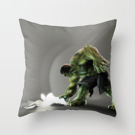 Puny Apple..... Throw Pillow