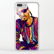 Smoking weed evry day Clear iPhone Case