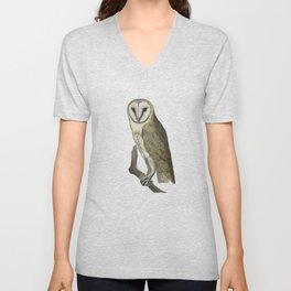 Owl in the Universe Unisex V-Neck