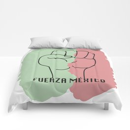 Fuerza Mexico Comforters