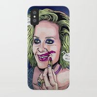 ahs iPhone & iPod Cases featuring Sally - AHS Hotel by ismaComics