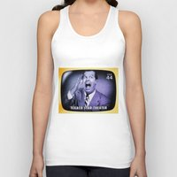 theater Tank Tops featuring Texaco Star Theater by lanjee
