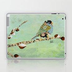 Cafe Swirly Bird 5 Laptop & iPad Skin