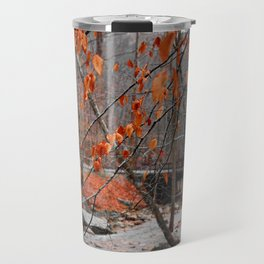 Fall Leaves Color Pass Travel Mug