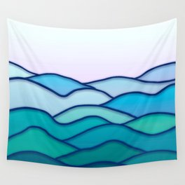 Minimal Landscape 4 Wall Tapestry