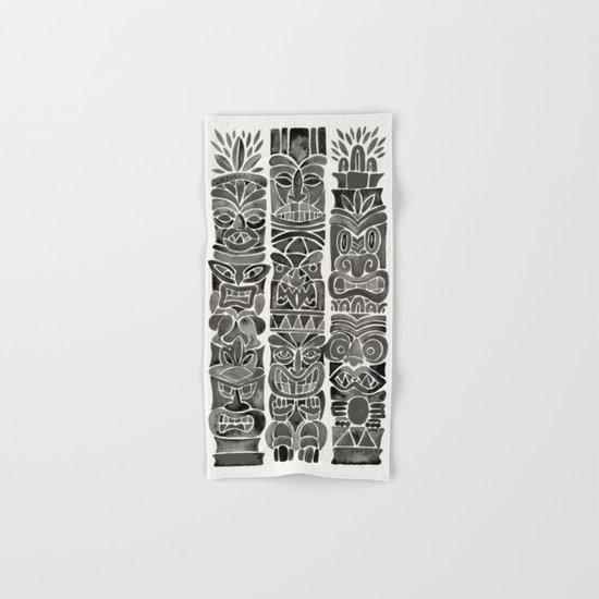 Tiki Totems – Black Hand & Bath Towel