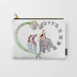Beetle juice - Adam & Barbara Carry-All Pouch
