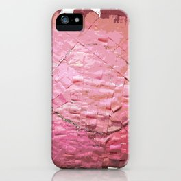 Smile on a pink toilet paper 2 iPhone Case