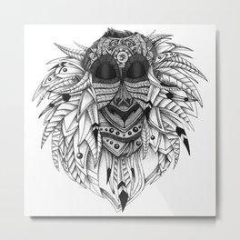 Ornate Rafiki Metal Print