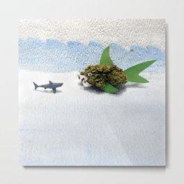 High-O-Rama Series: Shark Off Metal Print