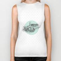 steam punk Biker Tanks featuring Steam punk by grop