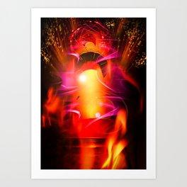 Lighthouse romance 10 Art Print