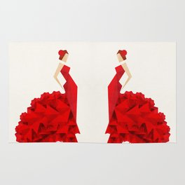 The Dancer (Flamenco) Rug