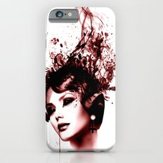 the woman in red Slim Case iPhone 6s