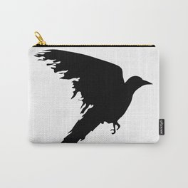 Ragged Raven Silhouette Carry-All Pouch