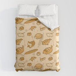 Live, Laugh, Loaf Pattern Comforters
