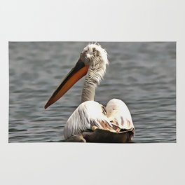 The Sea Breeze Blows The Pelican Where He Wants To Go Rug