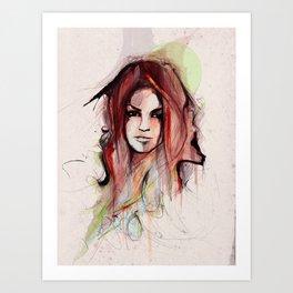 Beauty is Power Art Print