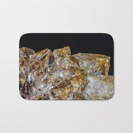 Citrine Crystals Bath Mat