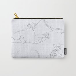 Lovers Kiss Carry-All Pouch