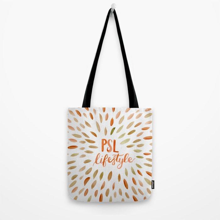 Pumpkin Spice Lifestyle Tote Bag